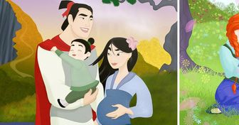 An Artist Imagined How 18 Disney Couples Would Look If They Had Children