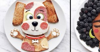 An Artist Shows What Happens When a Plate Is Your Canvas and Food Is Your Paint