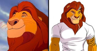 "An Artist Shows What Animals From ""The Lion King"" Would Look Like as Humans"