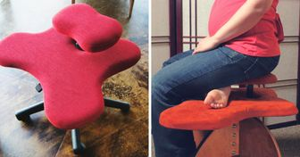 Finally, There's a Chair for Those Who Love Sitting on Their Legs, and It's a Real Catch