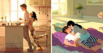 An Artist From New Zealand Shows the Little Things Most Loving Couples Do, and They Look So Familiar