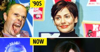 Our Favorite Rock Stars From the '90s: Now and Then