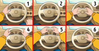 Test: The Way You Hold the Wheel Can Say aLot About You