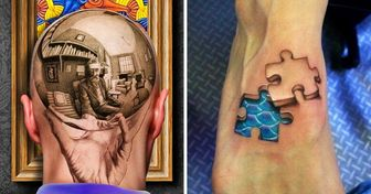 22 Realistic 3D Tattoos Only the Bravest Would Dare to Get