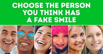 Which Person Has aFake Smile? Your Choice Can Reveal anImportant Trait About You