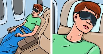 10Ways toStay Comfortable During aLong Flight