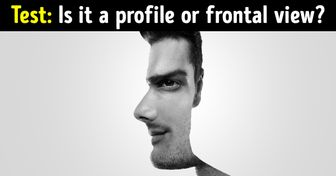 Isthe Man Depicted inProfile orFrontal View? The Answer Can Reveal aLot About Your Personality