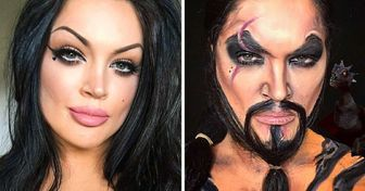 An Artist Completely Transforms Herself With the Help of Makeup, and It Seems She Can Be Anyone