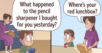 15 Comics About School Life That All Parents Can Relate To