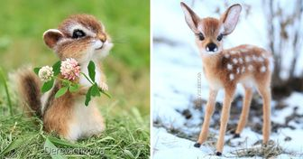 An Artist From Russia Makes Animal Toys That Enchant Everyone at First Sight