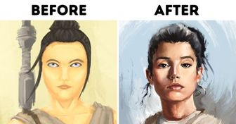 20 Artists Have Recreated Their Old Artwork, and the Progress Is Incredible