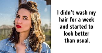 How I Decided to Stop Washing My Hair for 7 Days and Managed to Look Good