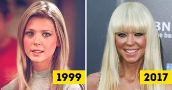 16Stunning Hollywood Actresses20 Years Ago and Now