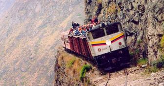 The World's 14Most Dangerous Roads That Take Your Breath Away