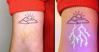 An Artist From Australia Makes Glowing Tattoos That Come Alive in UV Light and Look Like Magic