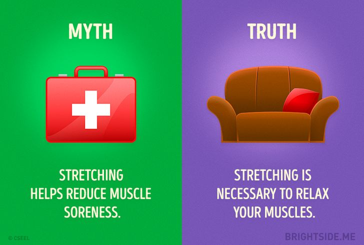 10Fitness Myths You Need toStop Believing