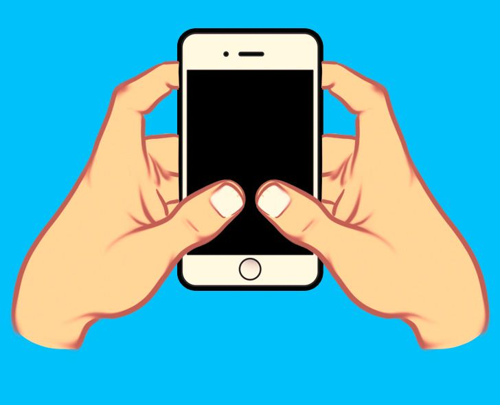 The Way You Hold Your Smartphone Can Say aLot About Your Personality