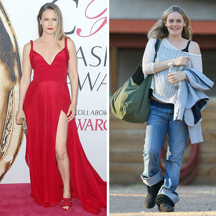 17 Stars That Look Stunning at Red Carpet Events and Don't Care Much About Clothes in Real Life