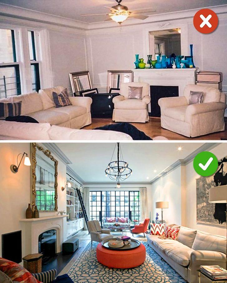 16 Mistakes We Make In Living Room Design