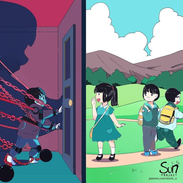 AnArtist From Indonesia Shows What Feelings Are Hidden Inside Our Souls