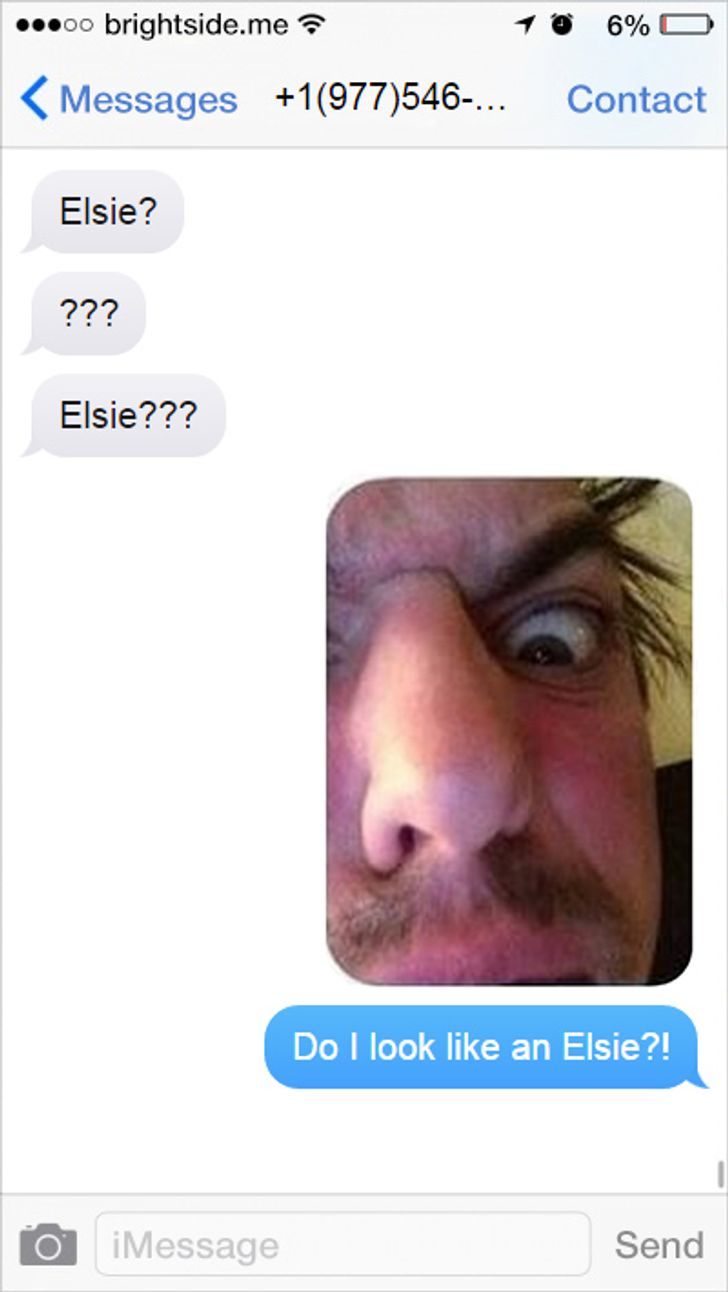 Seventeen hilarious messages from people who texted the wrong number