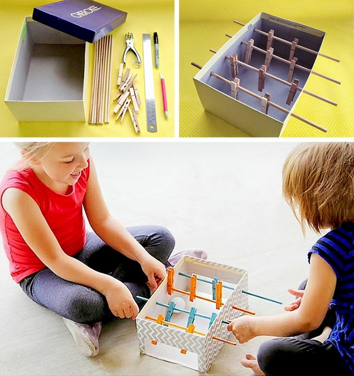 11 fajnych zabawek, które możesz zrobić ze swoimi dziećmi