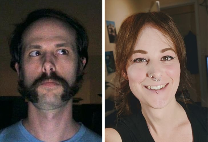 20 People Who Embraced Their True Selves, and the Results Were Stunning