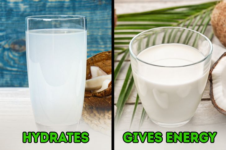 Coconut Water vs Coconut Milk: How They Differ and What Their Benefits Are