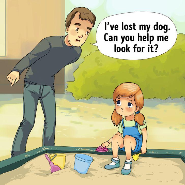 12 signes qui peuvent vous aider à reconnaître un kidnappeur d'enfant