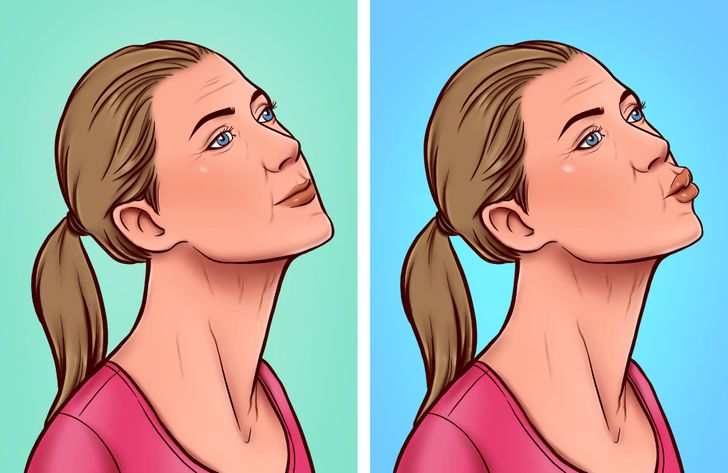 7 Exercises to Naturally Get Rid of a Turkey Neck