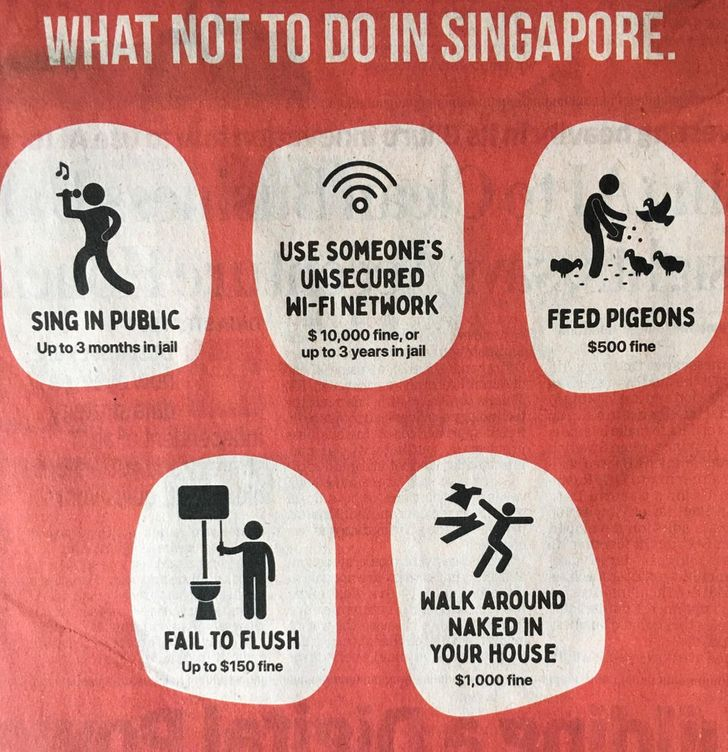 25 Things That Prove There's No Country Like Singapore