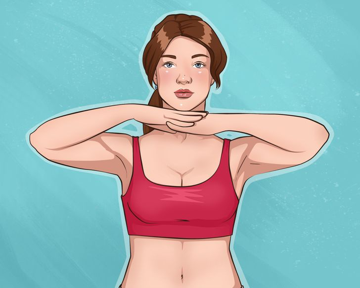 10Easy Exercises For Beautiful Arms and Tight Breasts