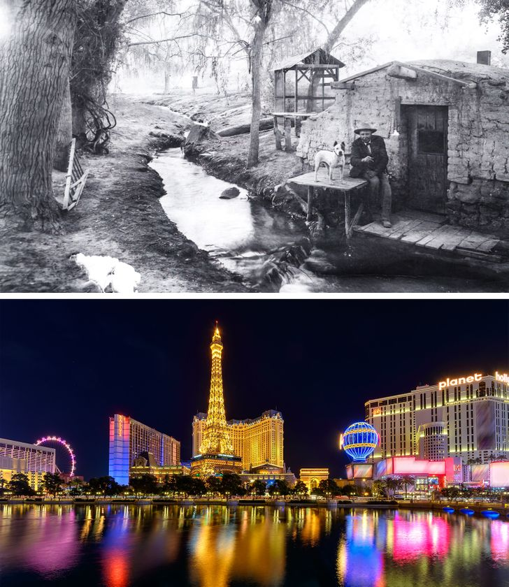 15 Photos That Show What Decades of Time Are Capable Of
