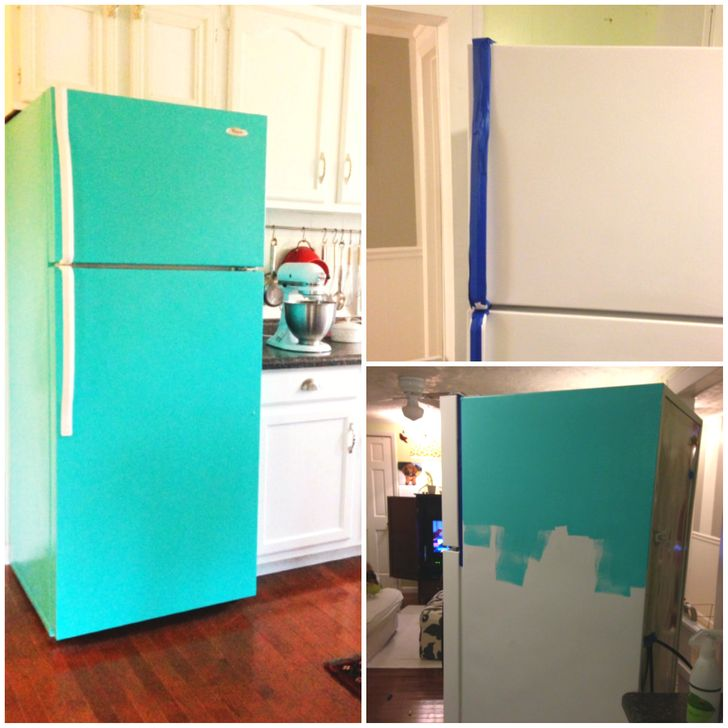 12 Simple Ways To Turn A Plain Fridge Into A Cool Kitchen Decoration