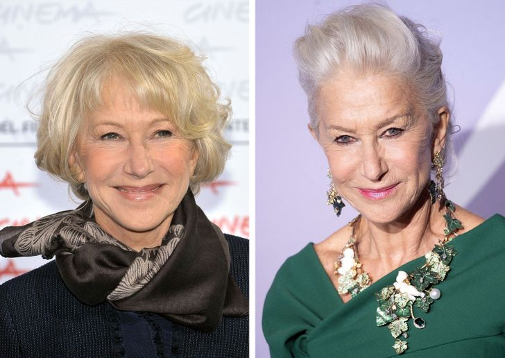 9 Iconic Celebrities With Grey Hair