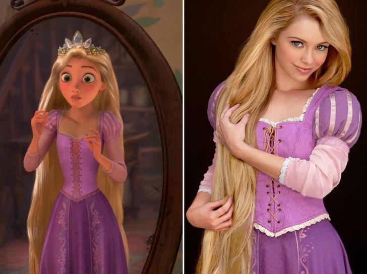 كيف ستبدو أميرات ديزني في الحياة الحقيقية