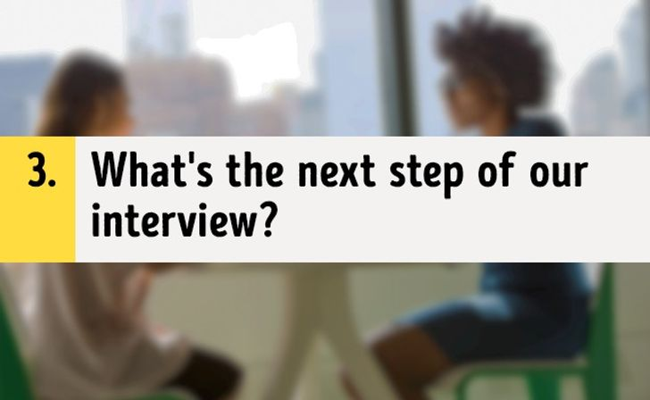 Don't Leave aJob Interview Without Asking These3 Questions