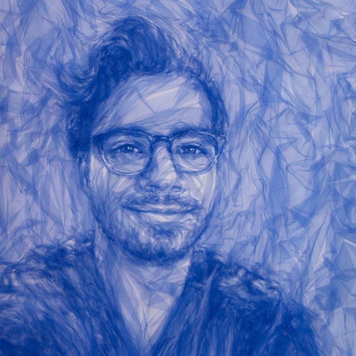 An Artist Creates Show-Stopping Portraits With Just an Iron and Tulle