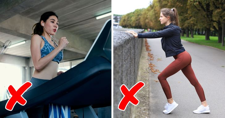 7 Things We Should Stop Doing Before a Workout