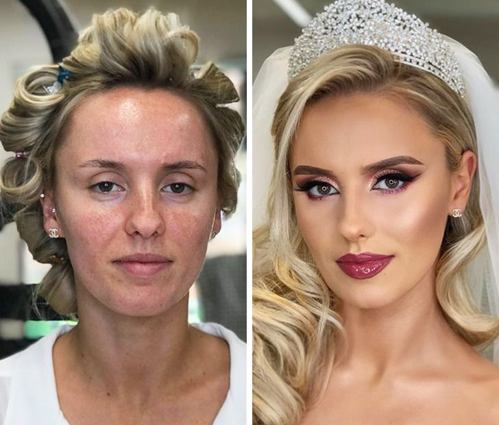 20+ Works by an Albanian Artist That Show How Much Wedding Makeup Can Transform a Bride