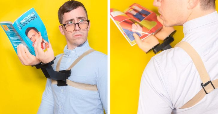 20+ Inventions That Seem Useless, but That We Secretly Wish We Had