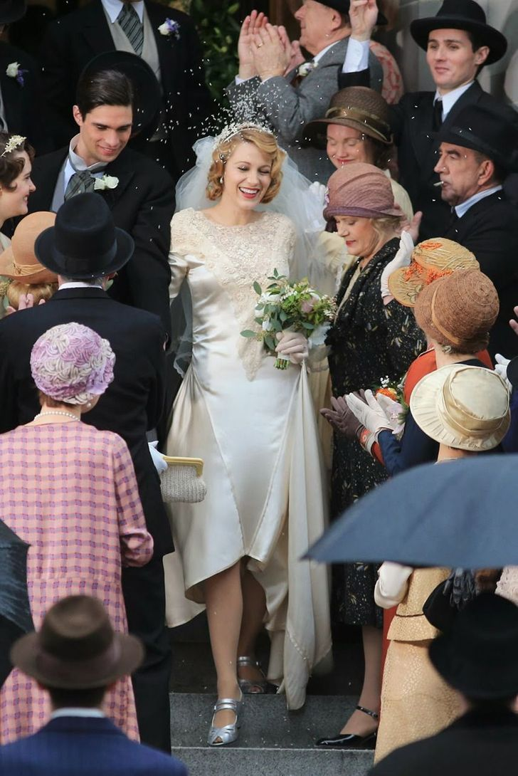 15 Iconic Movie Wedding Dresses That Took Our Breath Away,Wedding Dress Light Blue