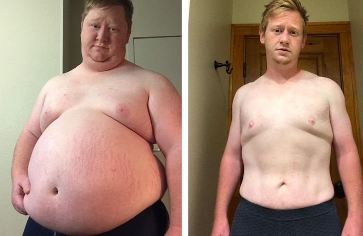 19 People Who Went From Puff to Buff and We Can't Help But Admire Their Willpower