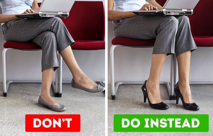 What Can Happen to Your Body If You Sit With Crossed Legs Often