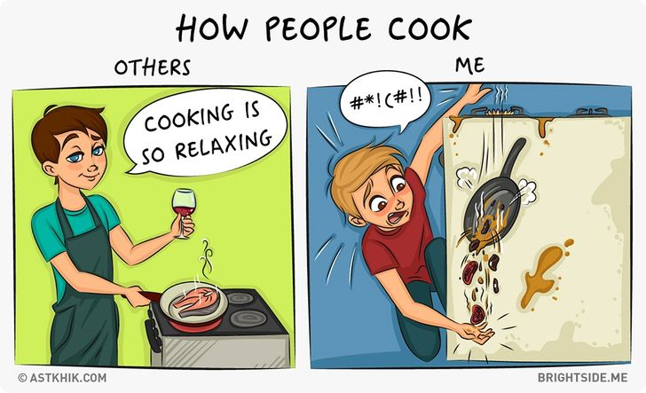 Normal People Vs. Me: 9Amusingly Truthful Comic Strips