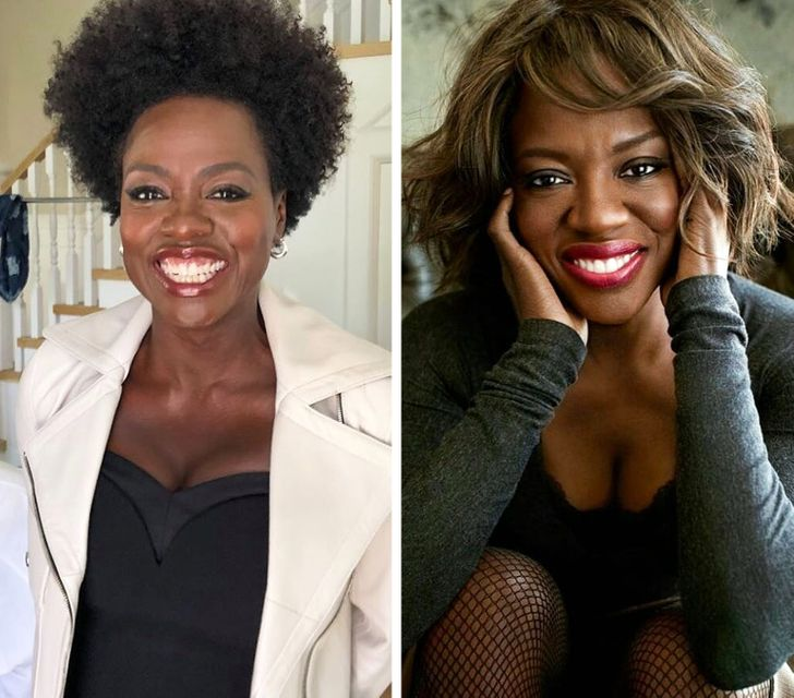 15 Celebrities Who Look Gorgeous With Their Natural Hair