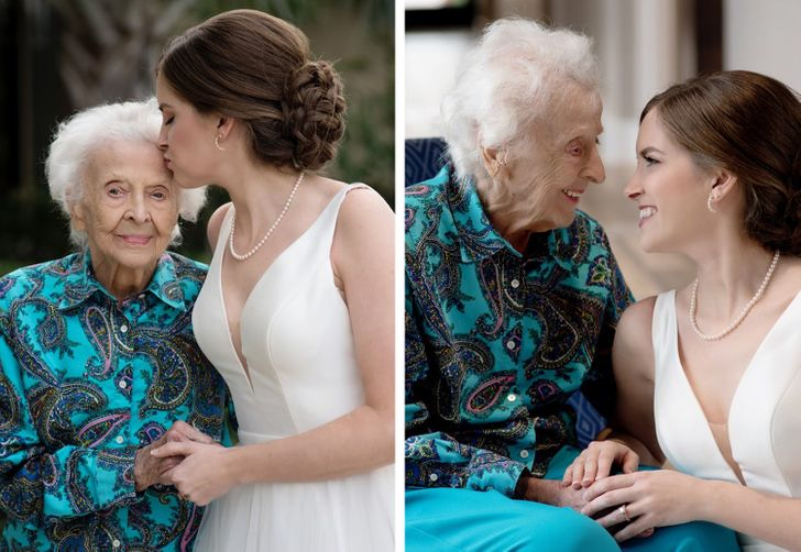 A Bride Secretly Brings a Wedding Dress to Her Sick Grandma to Share One Last Moment Together, and Even the Titanic Isn't As Touching As Their Story