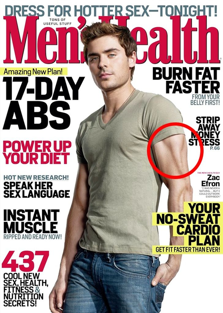 15Times Epic Photoshop Fails Didn't Stop Magazines From Publishing Celebs' Photos
