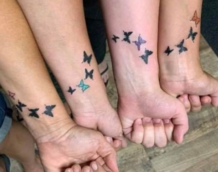 20+ Bright Siders Share Their Matching Tattoos That Bond Them With Loved Ones