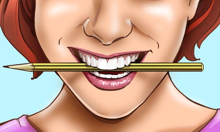 Prečo vám ceruzka v ústach môže urobiť šťastnejšou